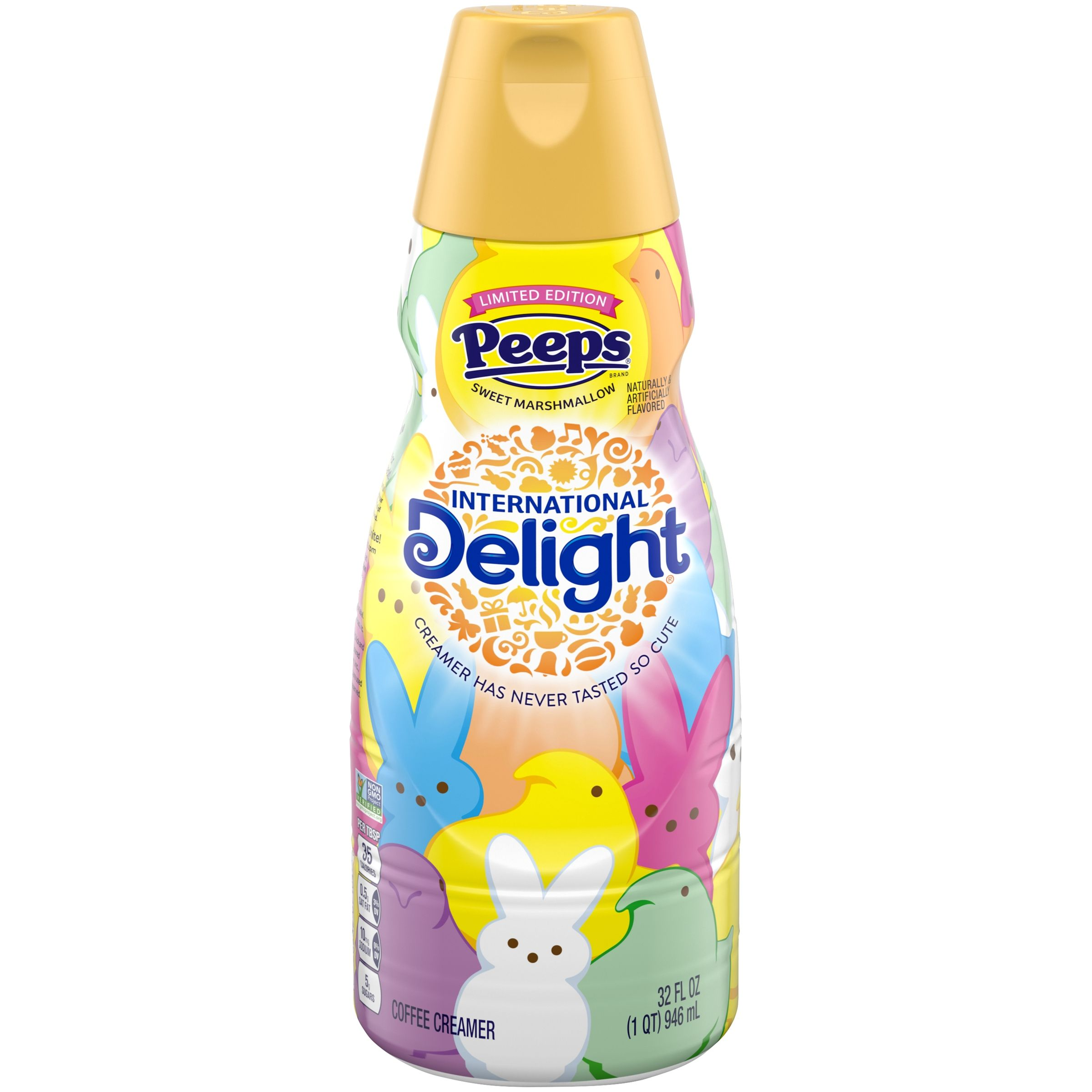 International delight peeps coffee creamer 32 fl oz
