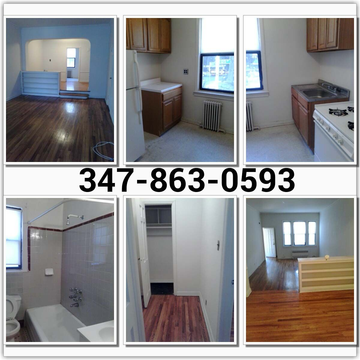 $1100 HUGE STUDIO APARTMENT FOR RENT IN KEW GARDENS Huge