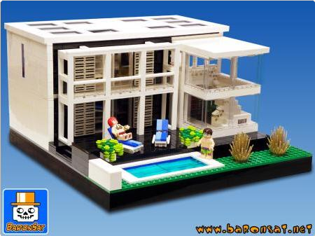 Lego villa google search ideas pinterest for Lego modernes haus