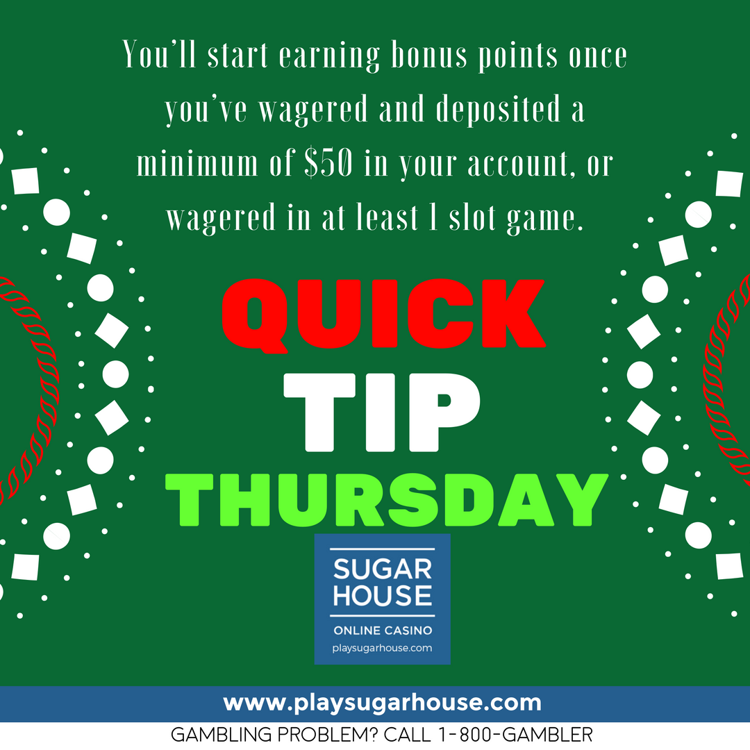 Wondering How To Earn Points On The Sugarhouse Weekly Leaderboard