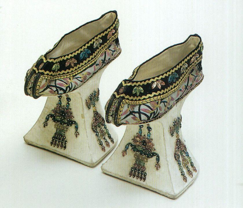Manchu High Platform Shoes, Qing Dynasty, Forbidden City