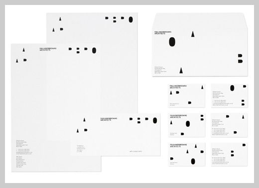 Company Letterhead Design  Faulknerbrowns Architects  Personal