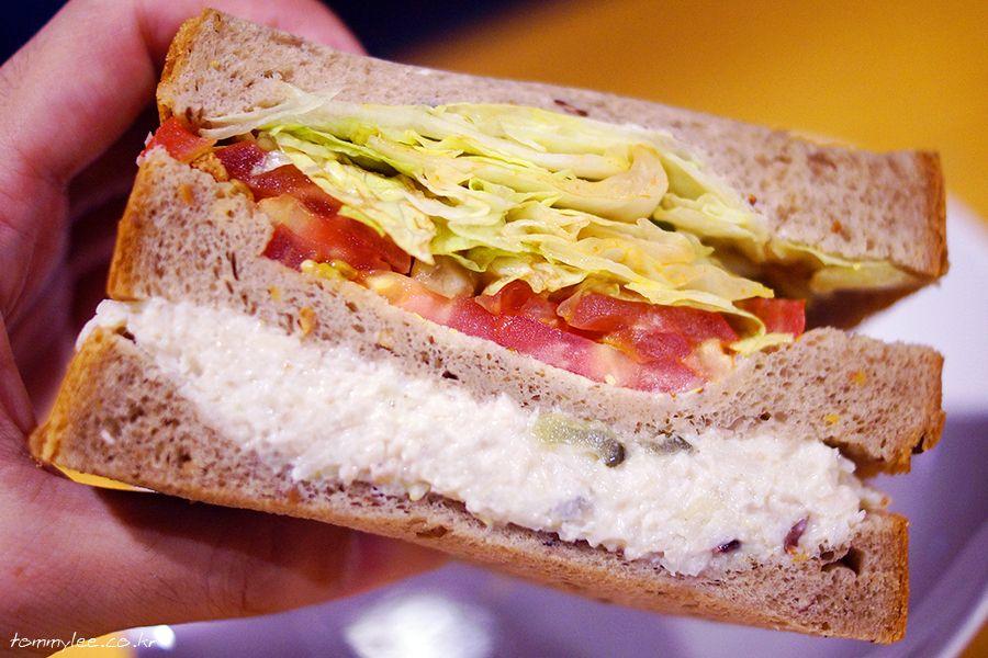 NEW CRANBERRY CHICKEN SANDWICH