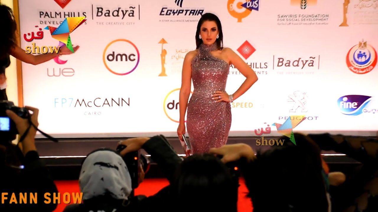 درة احلوت أكثر بعد الجواز وقلبت الدنيا بجمالها في ختام مهرجان القاهرة Strapless Dress Formal Formal Dresses Long Formal Dresses