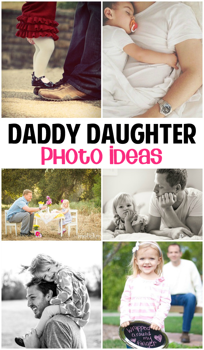 Photos Every Dad Needs To Take With His Daughter Daddy - Playful newborn photoshoot with dad might be the cutest thing ever