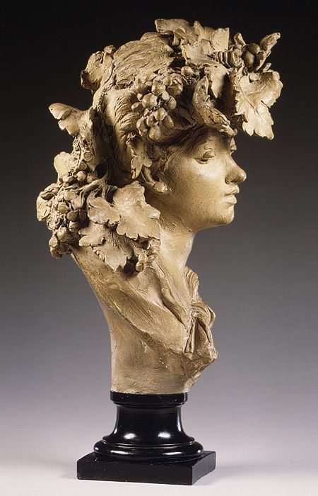 Auguste Rodin: Bacchante, also known as Grapes (1975.312.7) | Heilbrunn Timeline of Art History | The Metropolitan Museum of Art