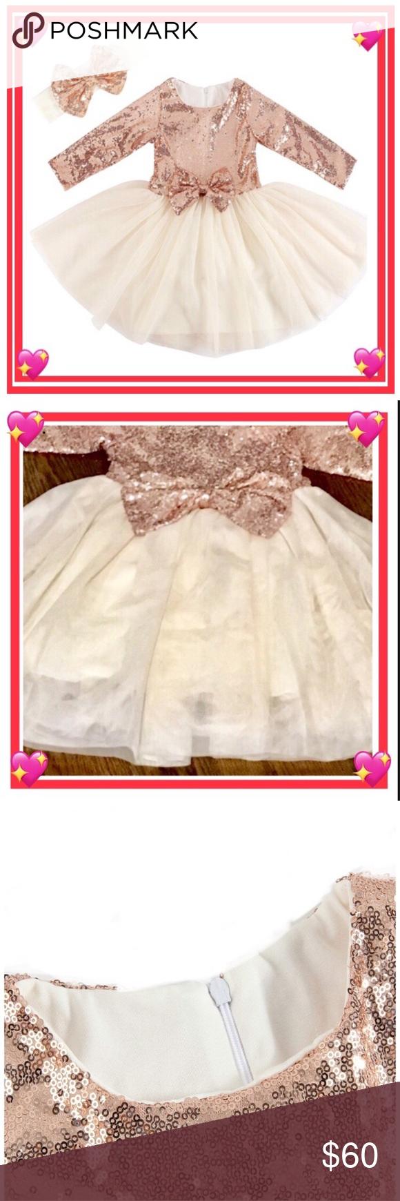 Sequin Tulle Flower Girl Birthday Party Dress Party Dresses With Sleeves Trendy Party Dresses Long Sleeve Sequin Dress [ 1740 x 580 Pixel ]