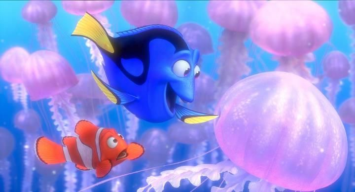 Dont touch the jellyfish finding nemo in theatres fall