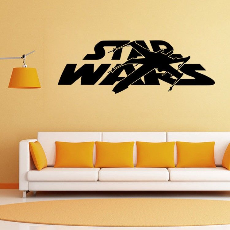 Star Wars Master Personalized Name Wall Art Sticker Decal Home DIY ...