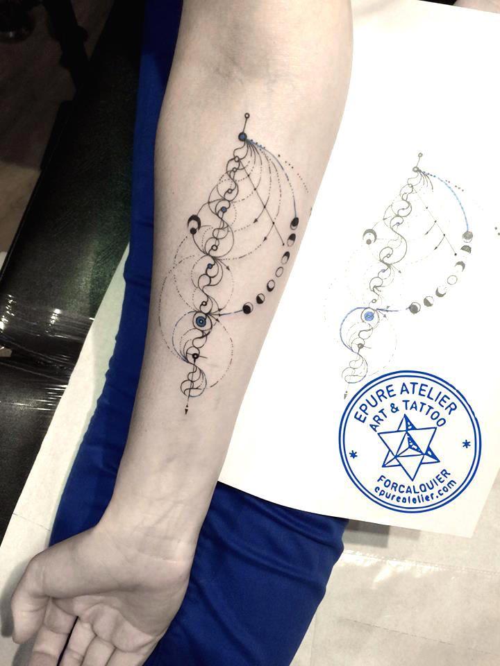 Tatouage pure tattoo pinterest purer tatouages - Tatouage boussole homme ...