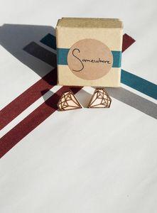 Image of Diamond earrings