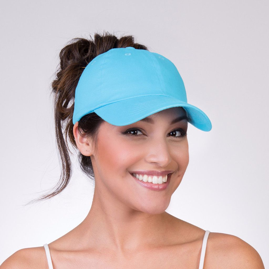 Easy Breezy - Ponytail Baseball Cap - Wear it closed like a regular ballcap  or open up the back and wear your ponytail 87c0da178ce6