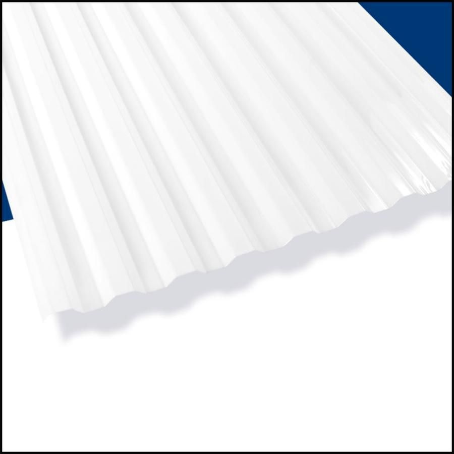 Suntuf Suntuf White Opal 72 Inx26 In 10 Pk 400989 In 2020 Roof Panels Fibreglass Roof Polycarbonate Roof Panels