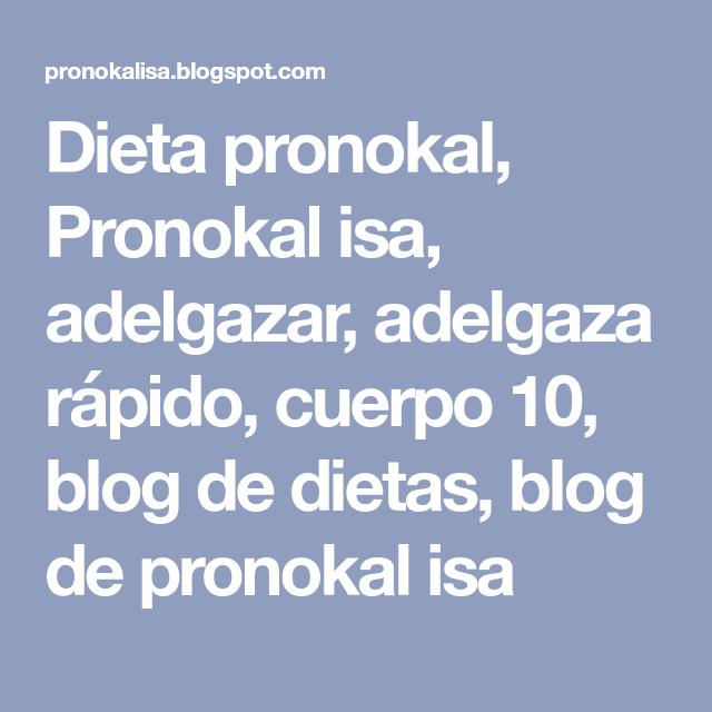 Fases dieta pronokal pdf