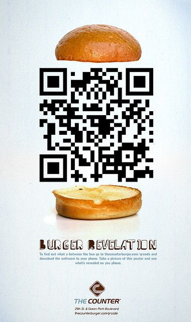 QR code advertisements