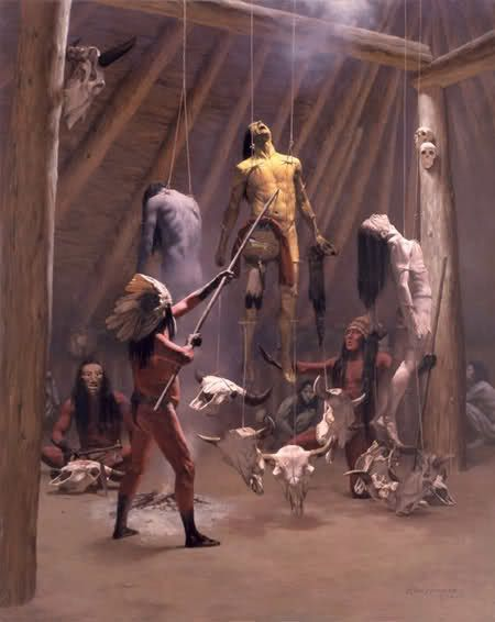 Native americans and the rituals of