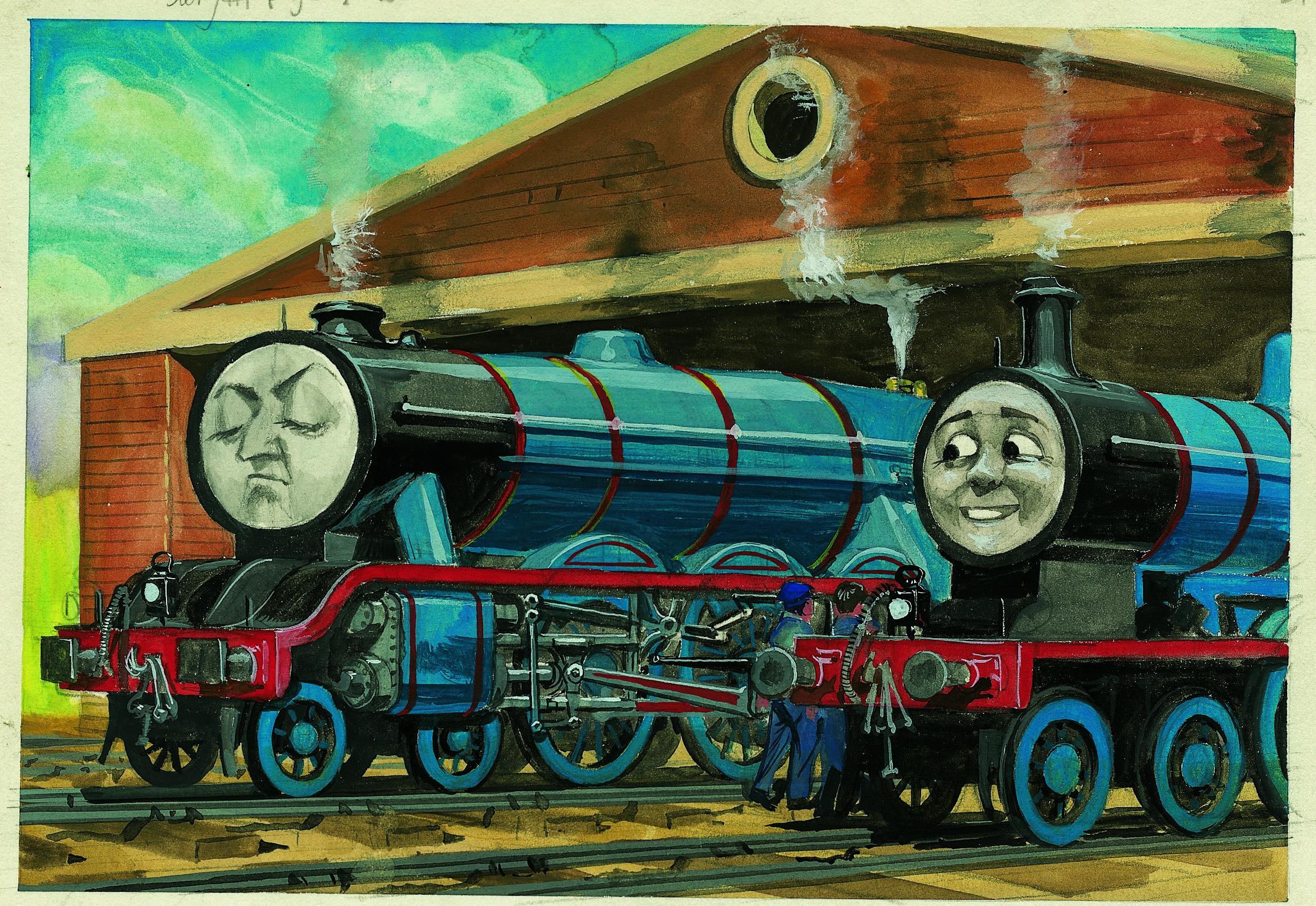 The Railway Series No. 31 : Gordon the High-Speed Engine (Classic ...