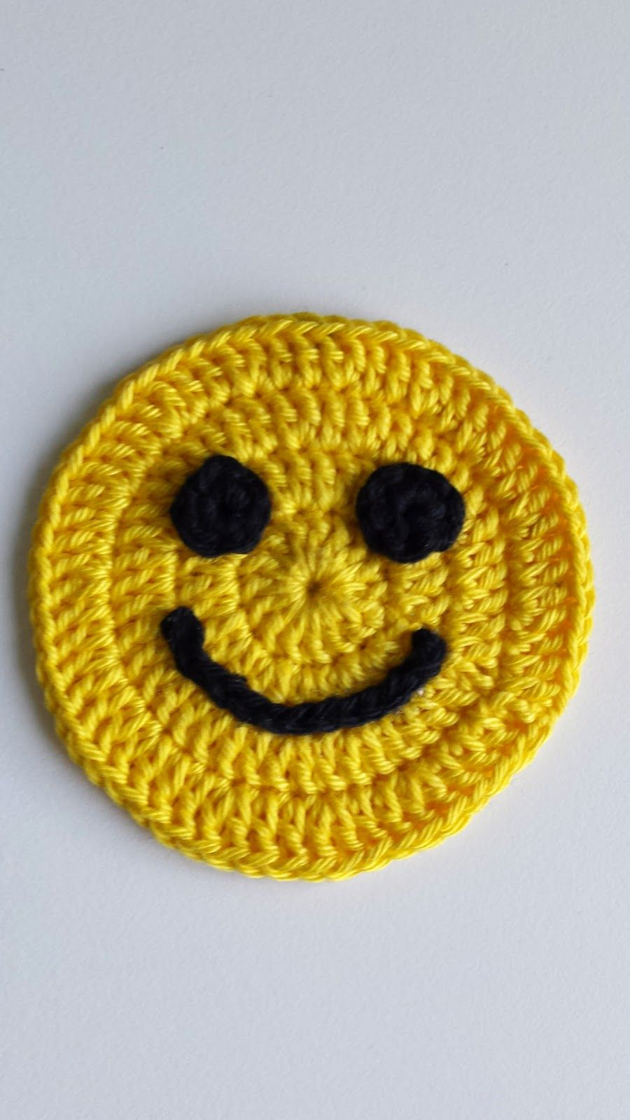 Patroon Smiley Haken Haakzaken Pinterest Magische Ring Geel