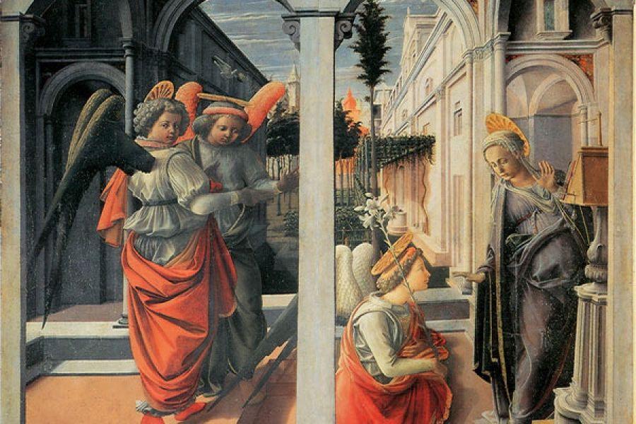 Firenze. Terminato il restauro dell'Annunciazione di Filippo Lippi