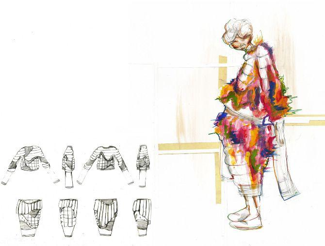 Modeconnect.com - Fashion sketchbook illustration work