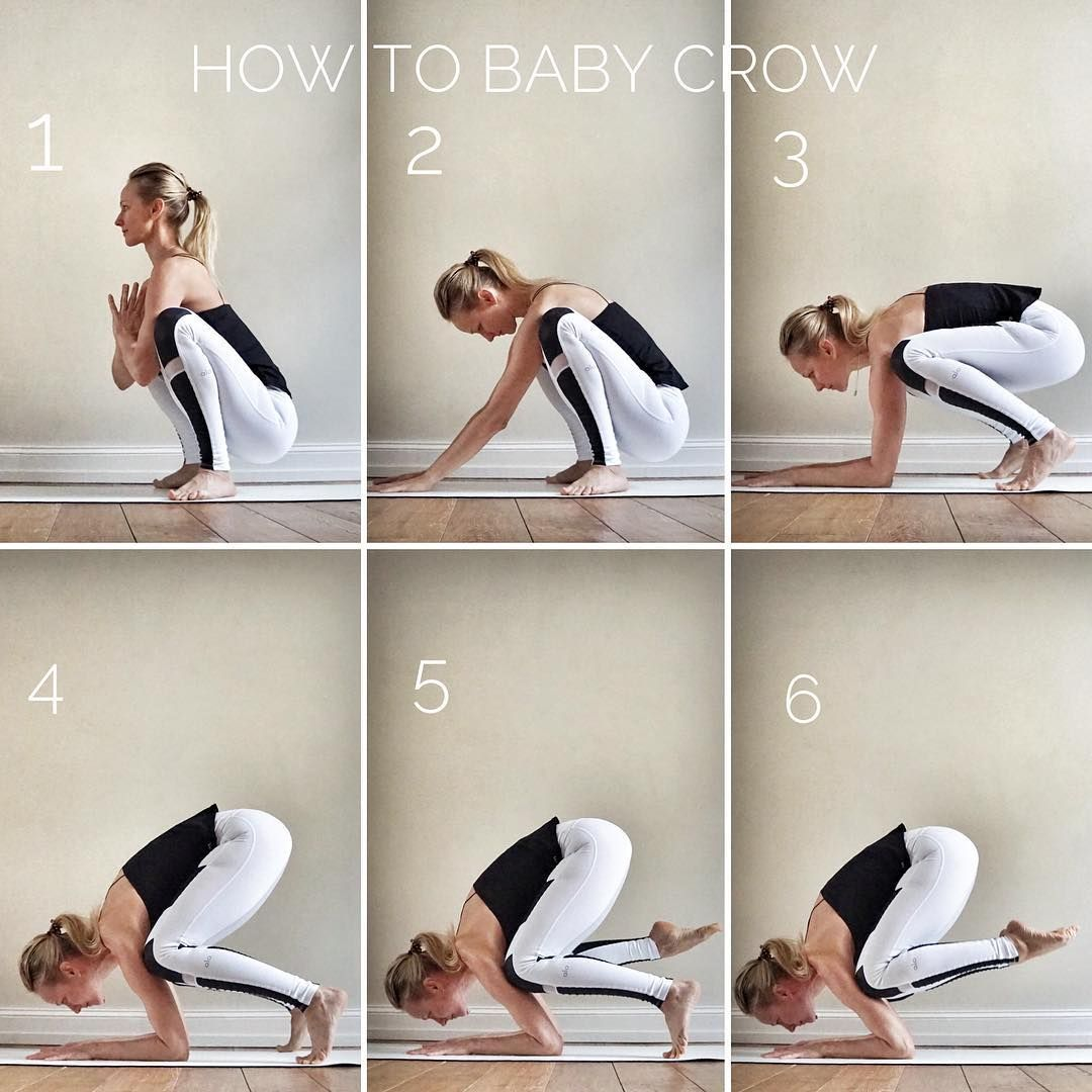 Ania on Instagram tutorialtuesday Today Im gonna share with you the step by step to the Baby Crow  a funky arm balancing pose for strengthening the whole  Ania on Instagr...