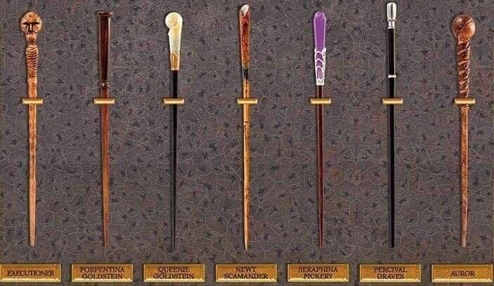 Porpentinas Wand Tina Goldstein Wand Designs From Fantastic Beasts Noble Collections Harry Potter Wand Collection Harry Potter Wand Harry Potter Diy