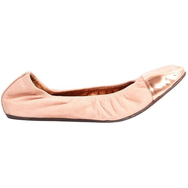 Pre-owned - Leather flats Lanvin OxIrGXnnA