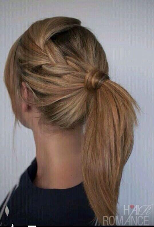 Coleta alta para una novia desenfadada pelo y makeup Pinterest