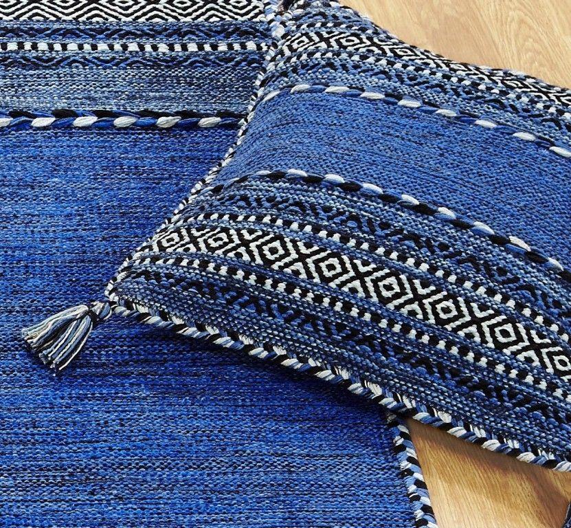 Kilim Blue Rugs Online At Modern Uk