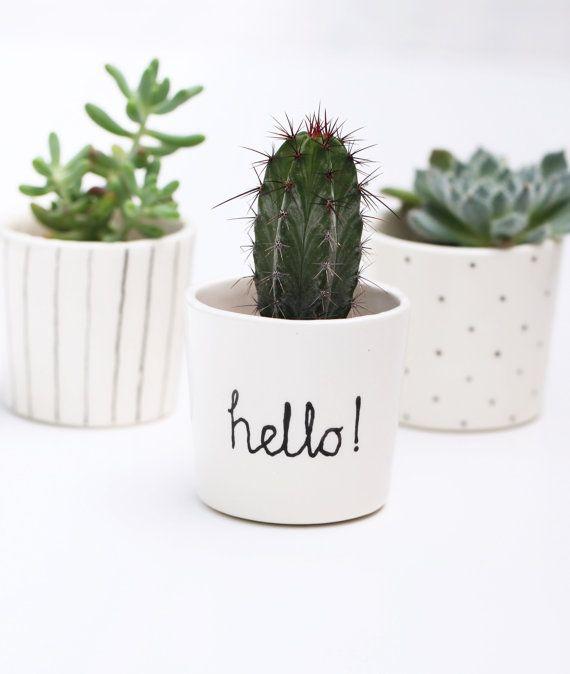 Fabrique Petit Pot De Plante Decoration