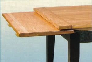 leaf table plans pid1210 amish stowleaf draw extension dining