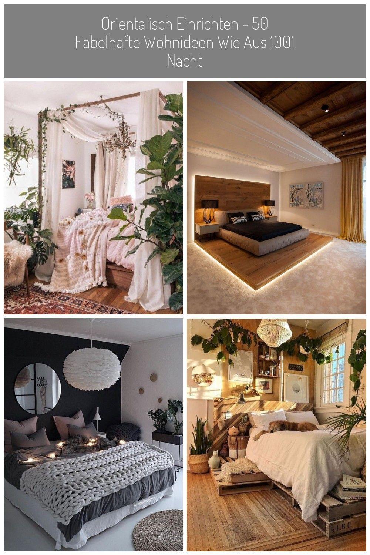 schlafzimmer orientalisch einrichten boho stil #decoration bedroom