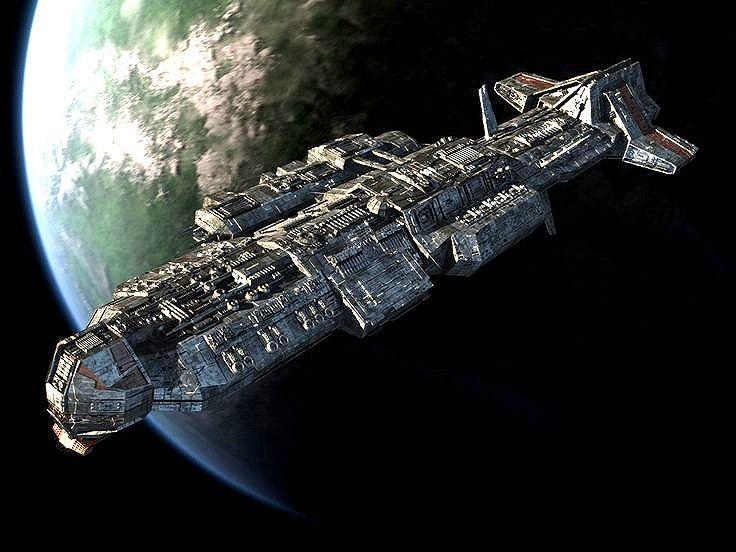 Aurora Spaceship from Stargate Atlantis.  #Spaceships  #Starships  #StargateAtlantis