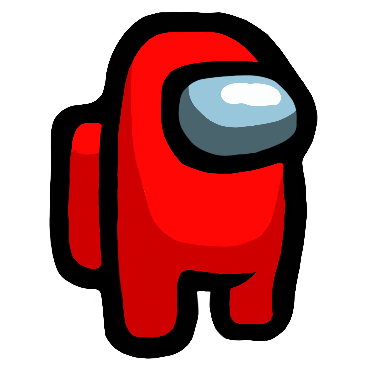 Red Among Us Green Characters Animated Emojis Cartoon Art