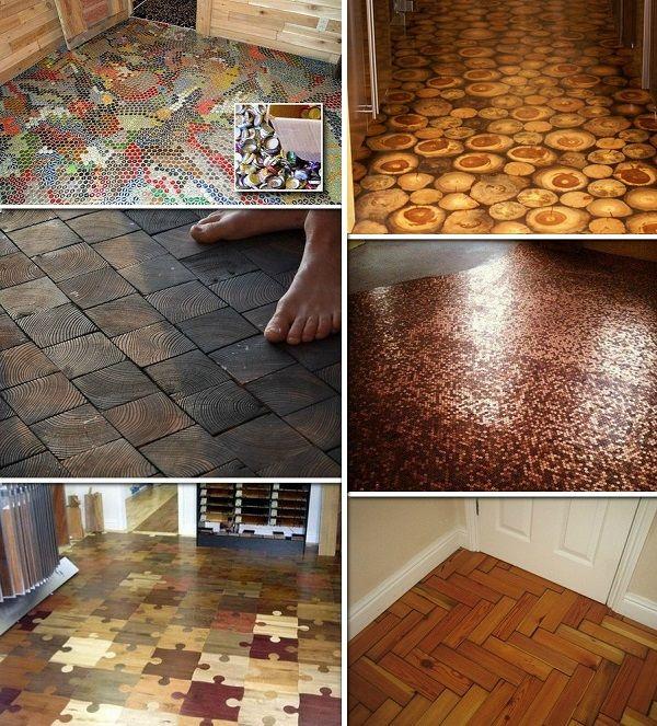 Creative at home flooring