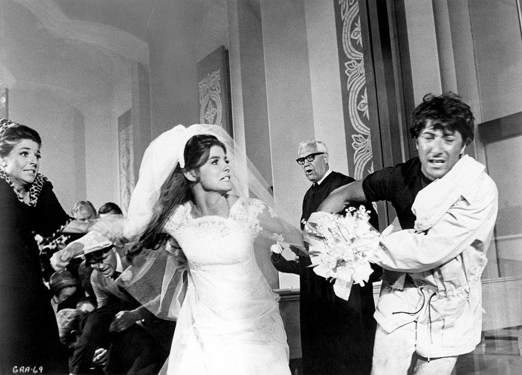 The Graduate 1967 1280 Wedding Movies Movie Wedding Dresses Wedding Dress Preservation