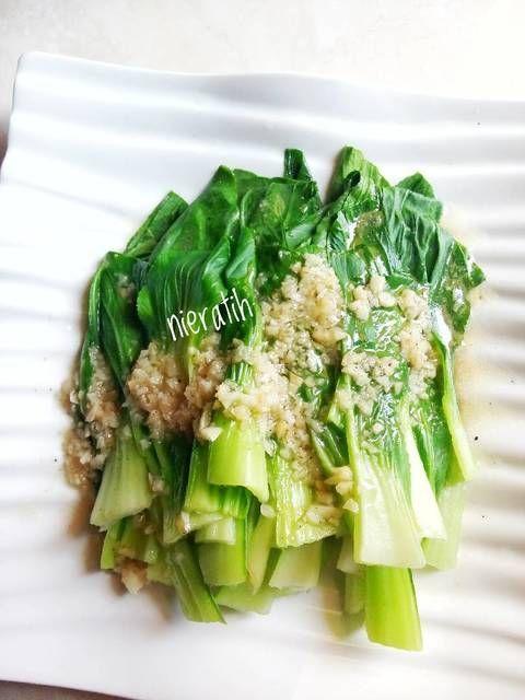 Resep Tumis Pakcoy Bawang Putih By Nie Ratih Makanan Sehat Resep Makanan Sehat Makanan Vegan