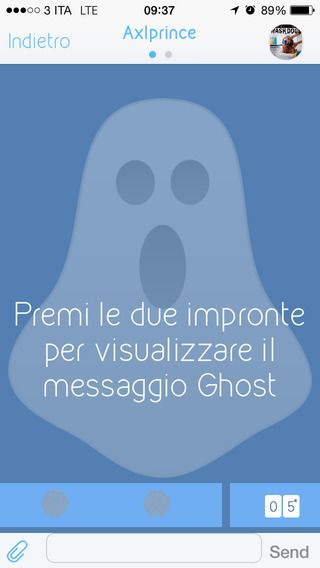 Ghost chat: is the perfect enviroment where you can share