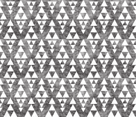 Stacked by Holli Zollinger Geometric Grunge Triangle Wallpaper Custom Printed Removable Self Adhesive Wallpaper Roll by Spoonflower