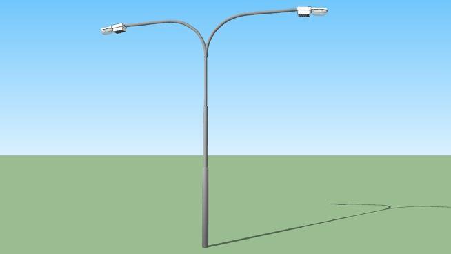 Poste De Luz Doble 3d Warehouse Home Decor Decor Lamp