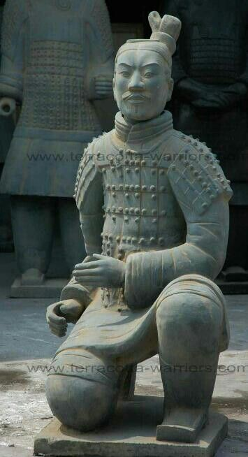 terracotta warrior  when you consider how many of these were made  the detail is really