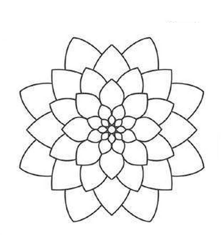 Mandalas Para Pintar Mandala Pinterest Mandala, Mandalas and