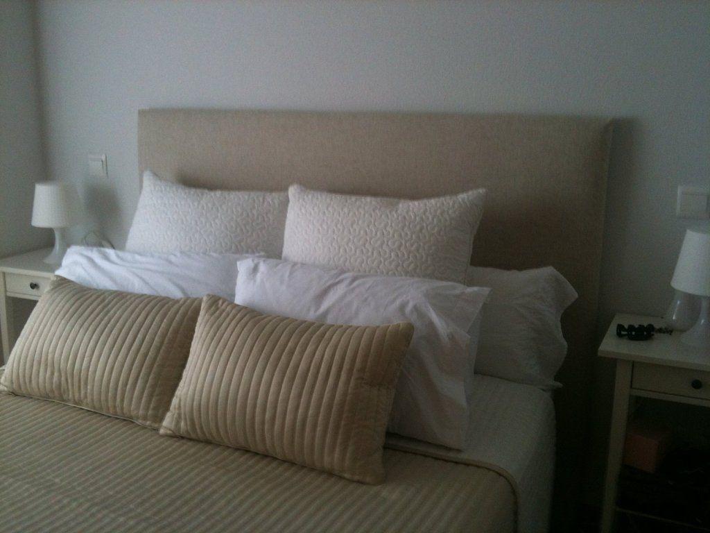 fabrica un cabecero tapizado muy sencillo y econmico