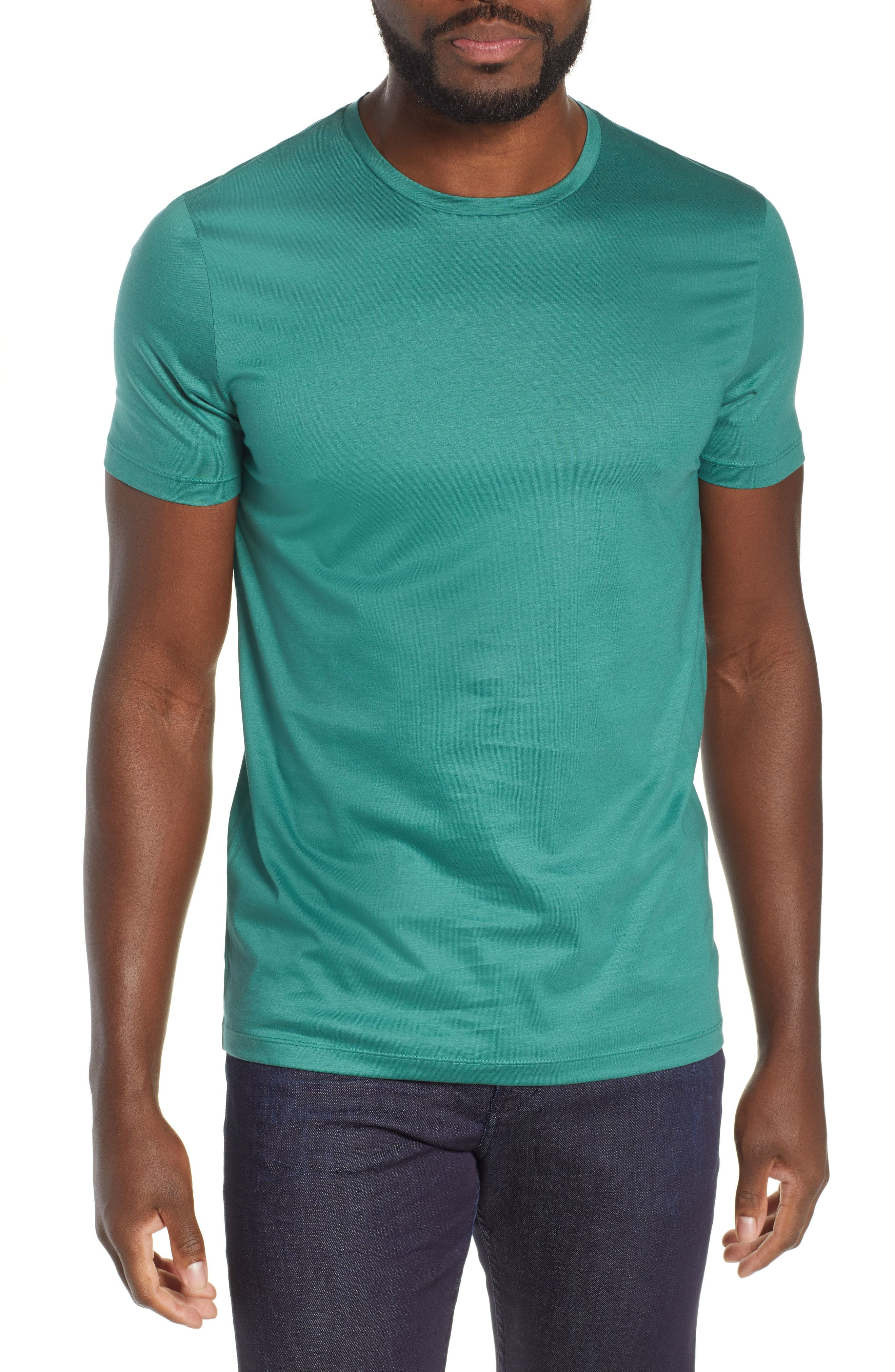 b238e689 BOSS TESSLER SLIM FIT T-SHIRT. #boss #cloth | Boss | Mens tops, T ...