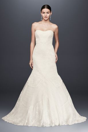 This Alluring Trumpet Wedding Gown From Truly Zac Posen Is An Unforgettable Bridal Look Crafted