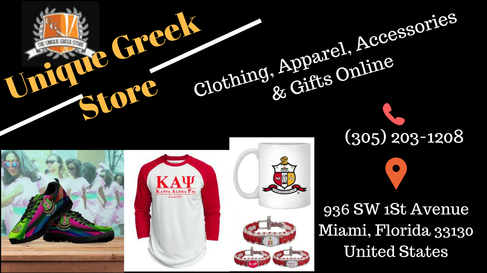 Unique Greek Store offers best selection of alpha phi alpha greek ...