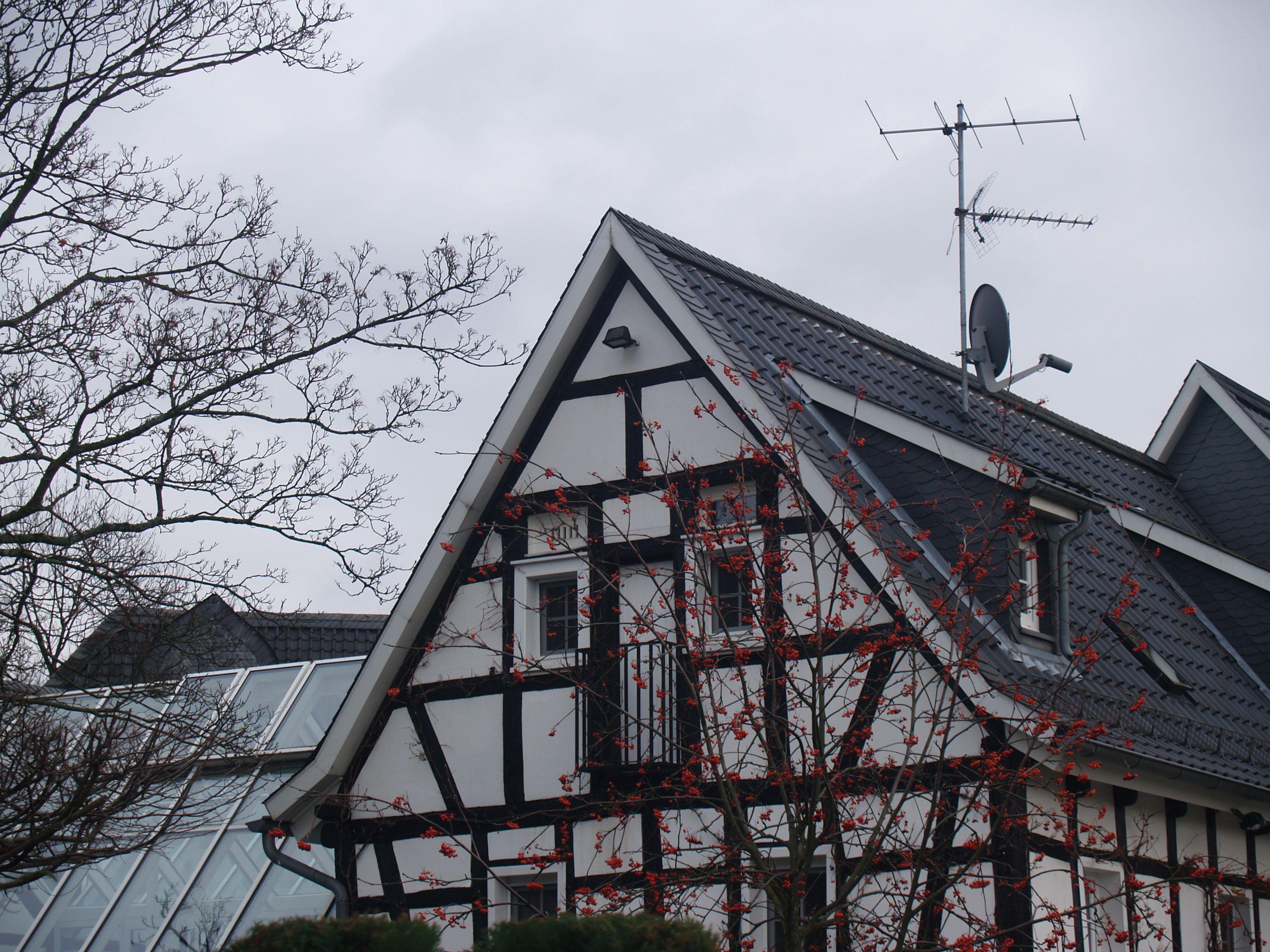 Giebel bei Schloß Bensberg