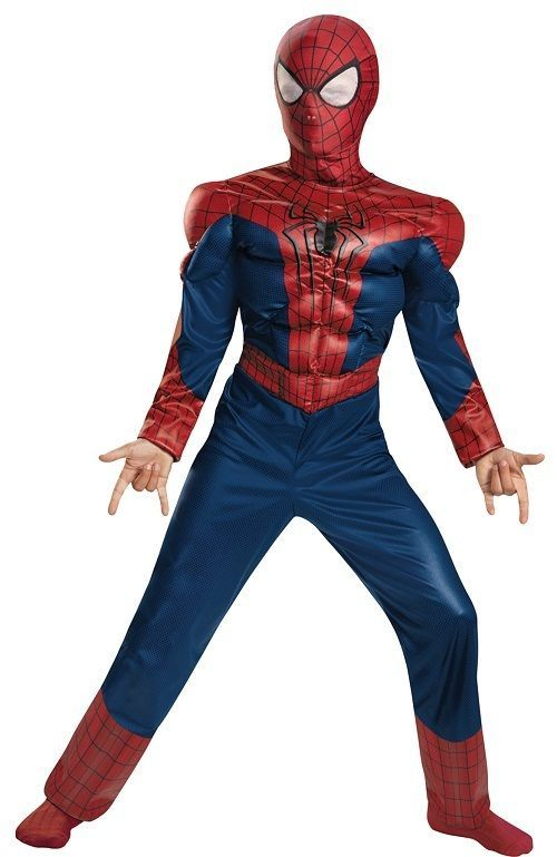 marvel avengers boys spiderman halloween costume s m completeoutfit