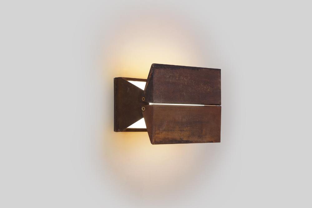 Brendan Ravenhill Ada 9 Lighting Corten Weathering Steel