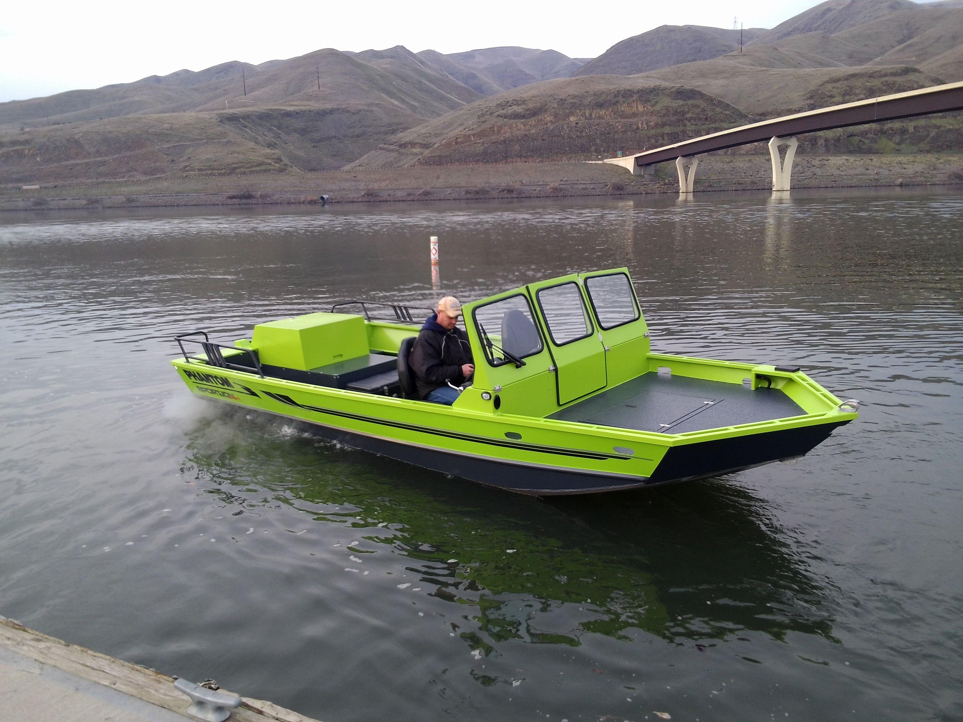 Phantom SportJon Invader | Phantom Jet Boats | Boat, Aluminum